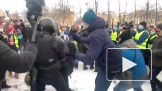 В Петербурге задержан подозреваемый в нападении на полицейского в ходе акции протеста