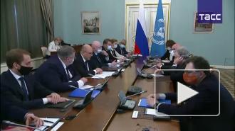 Мишустин призвал принять меры по отказу от односторонних санкций