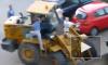 В Барнауле устроили самосуд над трактористом, устроившим пьяные гонки