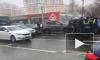 Появилось видео массового ДТП с 7 машинами на юге Москвы