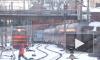 В Северной столице электричка насмерть сбила человека