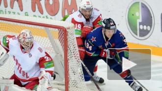 Победа над Витязем гарантировала СКА выход в плей-офф
