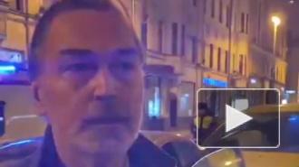 Никас Сафронов попал в ДТП в центре Москвы в свой день рождения
