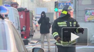 Во время ночного пожара на Большом Сампсониевском проспекте из дома пришлось эвакуировать 15 жителей