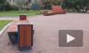 В сквере Шевченко установили новые скамейки, до них уже добрались вандалы