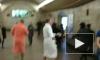 Доброе утро: В Петербургском метро молодые люди устроили банные танцы