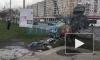 Пьяный петербуржец снес на автомобиле забор по проспекту Славы