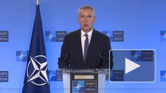 НАТО считает необоснованной переброску РФ военных к границе с Украиной