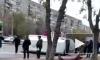 В Магнитогорске после столкновения с легковушкой перевернулась маршрутка с пассажирами