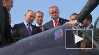 Путин и Эрдоган обсудили перспективы возобновления туристических обменов
