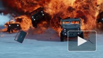 """Появилось видео: новый трейлер """"Форсаж 8"""" за первые сутки посмотрело свыше 130 млн. чел."""