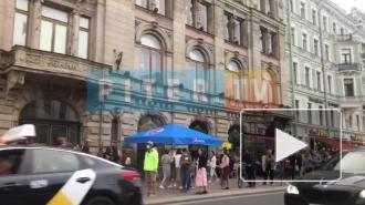 В центре Петербурга началась акция сбора подписей против поправок в Конституцию