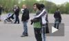Радужный флешмоб в парке Авиаторов. Геи и лесбиянки против гомофобии