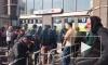 """Станция метро """"Улица Дыбенко"""" больше часа закрыта на вход и выход"""
