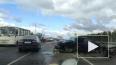 На Мурманском шоссе заметили пострадавшую в ДТП легковуш...