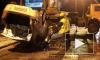 Водитель упавшего в Смоленку автомобиля смог выбраться