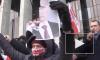 К посольству России в Минске стянулся спецназ
