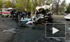 Жуткое видео из Украины: В Кривом Роге в ДТП погибли 8 человек, 18 пострадали