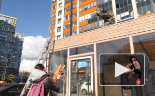 Жители Кудрово с боем отвоевали землю, незаконно захваченную предпринимателями