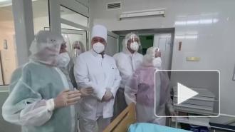 Лукашенко посетил реанимацию для больных COVID-19
