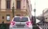 Автоледи прокатилась по Итальянскому мосту