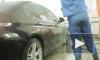 Ловкие злоумышленники угнали дорогую Toyota с автомойки в Петербурге