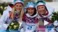 Лыжные гонки. Женский масс-старт на 30 км: лыжницы ...