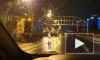 На ЗСД всмятку разбился Peugeot: видео