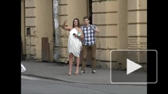 Пьяная петербурженка ворвалась в эфир 100ТВ