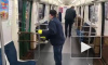 В метро Петербурга показали, как дезинфицируют поезда