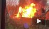 Во Всеволожске сгорел заброшенный дом