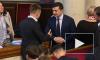 Зеленский отказался пожимать руку депутату рады Гончаренко