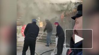 В Измайловском кремле в Москве произошло возгорание