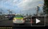 На пересечении Придорожной Аллеи и Культуры автовоз перекрыл две полосы