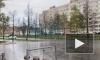 На юго-запад Петербурга обрушился мощный град