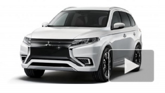 Mitsubishi представила гибридный внедорожник Outlander PHEV Concept-S
