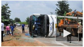 В столкновении автобусов под Шарм-эш-Шейхом погибли 30 человек, информация о россиянах среди них не подтверждается