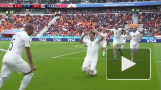 Второй матч ЧМ-2018 завершился со счетом 1:0 в пользу Уругвая