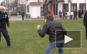 Лучано Спаллетти дал мастер-класс юным футболистам