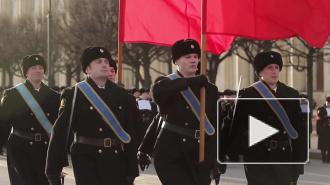 В Петербурге начались репетиции Парада Победы