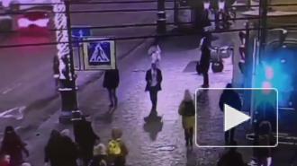 Женщина потеряла сознание перед входом в отель на Невском
