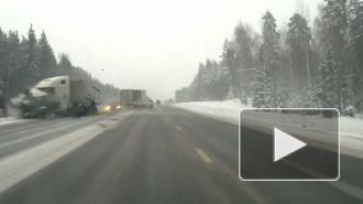 Опубликовано видео самого страшного в России ДТП