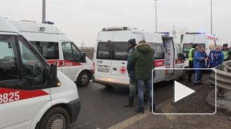 Жертвами ДТП на КАД в Петербурге стали девять человек