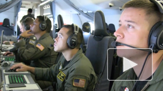Эсминец КНР направил лазер на самолет-разведчик США