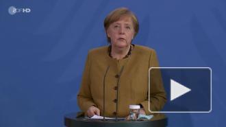 """Меркель заявила о """"свете в конце тоннеля"""" в борьбе с коронавирусом"""