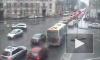 Проехал на красный. Авария на Австрийской площади