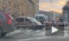 Неисправный светофор стал виновником серьезного ДТП на Васильевском острове