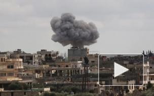 Сирия нанесла удар по десяткам террористов в Идлибе