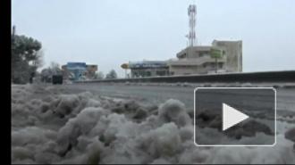 В Каире впервые за сто лет выпал снег