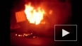 Сгорел автобус на Шлиссельбургском проспекте